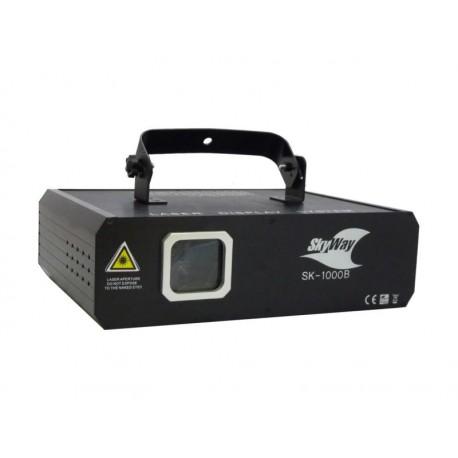 Laser Skyway SK-1000B 1000mW Blue DMX, Ilda