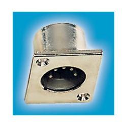 Gniazdo panel XLRm 5-pin męskie, metal