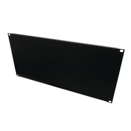 Panel Z-19 kształt U, wysokość 5U, czarny