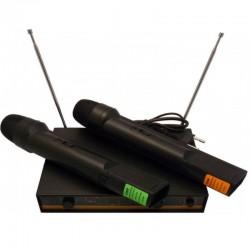 Podwójny mikrofon bezprzewodowy LB-06