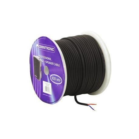 Kabel głośnikowy okrągły LS-25 2x1,5mm