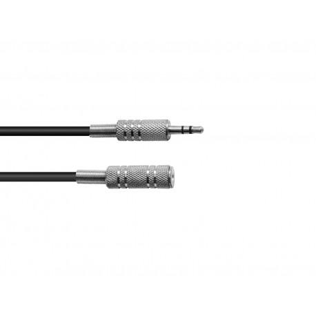 Kabel Jack 3,5mm stereo - 2x Jack 6,3 mono - 6m