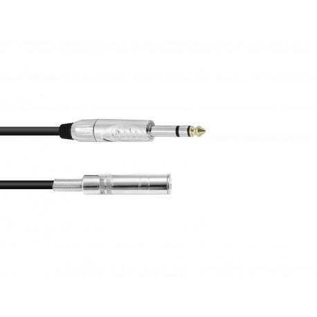 Przedłużacz wtyk Jack 6,3 stereo- gniazdo Jack 6,3 stereo- 10m