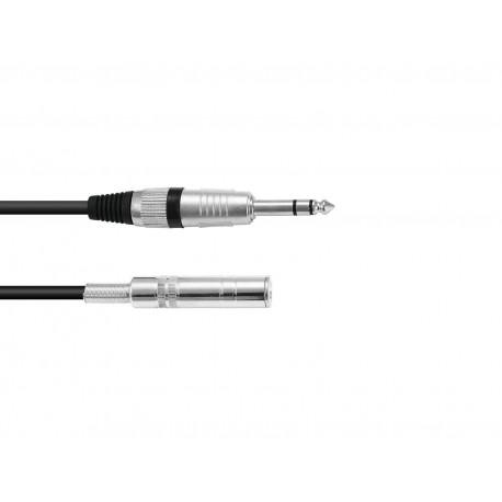 Przedłużacz wtyk Jack 6,3 stereo- gniazdo Jack 6,3 stereo- 6m