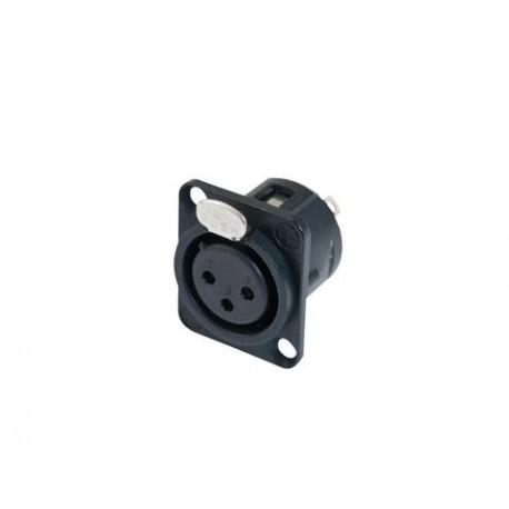 Gniazdo XLR 3pin NC3FDL-1-BAG Neutrik