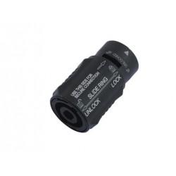 Speakon adapter Neutrik NL4MMX - przedłużacz