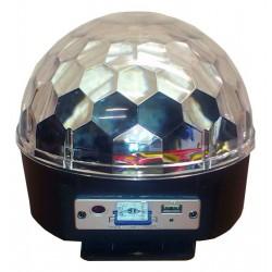 Efekt dyskotekowy LED MAGIC BALL MP3