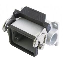 Obudowa złącza wielostykowego 6-pin panelowa z zatrzaskiem