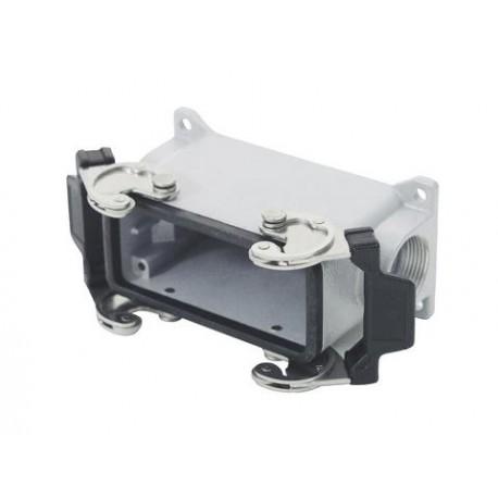 Obudowa złącza wielostykowego 16-pin panelowa z zatrzaskiem