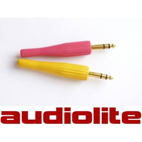 Wtyk Jack 6,3 stereo kolor, guma