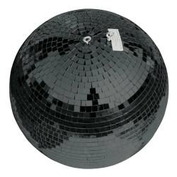 Kula lustrzana czarna 30cm bez silnika
