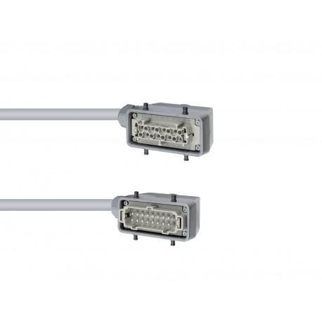 Kabel wielożyłowy ze złączami 16-pin