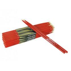 Pałki perkusyjne klonowe DIMAVERY DDS 5A czerwone