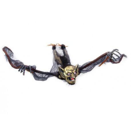 Halloween Gnom ze skrzydłami nietoperza 120cm