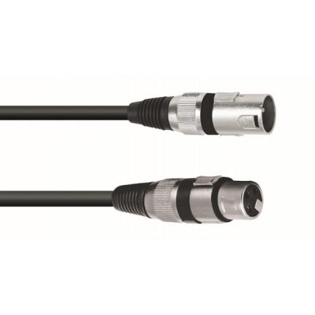 Kabel mikrofonowy XLRf-XLRm - 5m