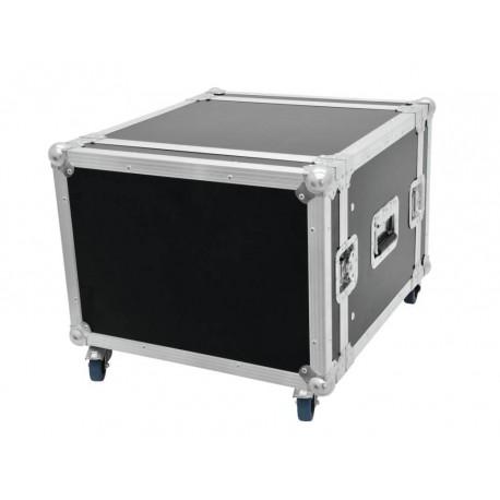 """Case Pro 19"""" 8U 45cm z kółkami"""