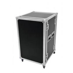 """Case Pro 19"""" 15U 45cm z kółkami"""