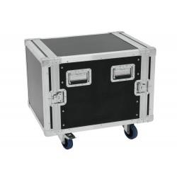 """Case Pro 19"""" 10U 55cm z kółkami"""