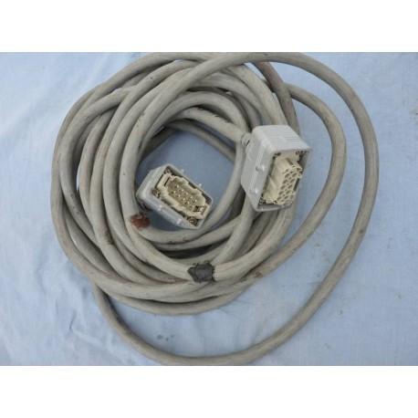 Kabel 25x0,75 wielozłącza Harting 10pin