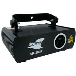 Laser Skyway czerwony SK-200R 200mW DMX