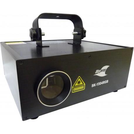 Laser Skyway SK-1504RGB 1500mW DMX, Ilda