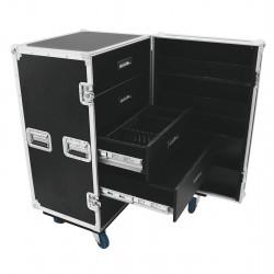 Universal case TSF-1, szuflady, kółka